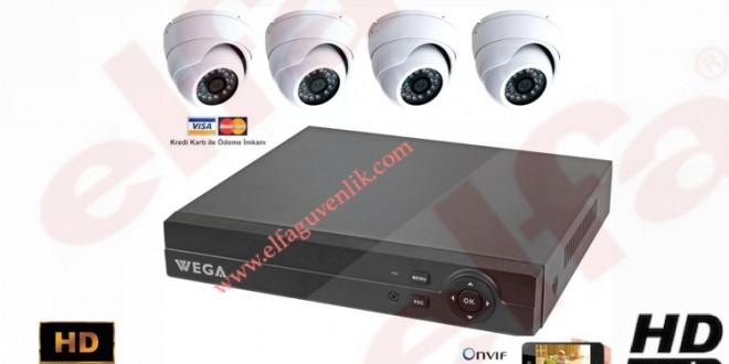 Hazır Kamera Sistemi 4 Kanal