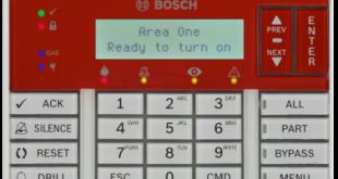 B925F Yangın ve hırsız alarmı tuş takımı, SDI2