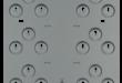 D9002-5 Montaj plakası, 6 kon. 3 delikli, 5ad.