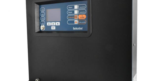 teknim-8 BÖLGELİ GENİŞLETİLEBİLİR KONVANSİYONEL YANGIN ALARM PANELİ - LCD EKRANLI